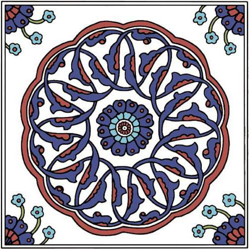 Турецкий орнамент, оригинал