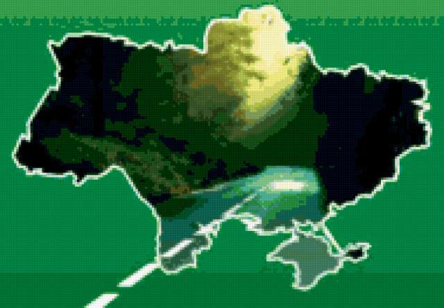 Карта украины, предпросмотр