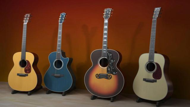 Гитары, оригинал