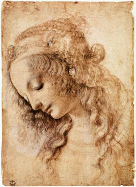 Леонардо да Винчи,рисунок,