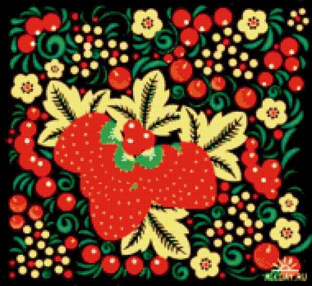 Схема вышивки «Русский узор»