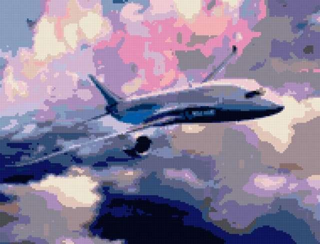 Самолёт, предпросмотр