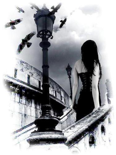 Чёрное и белое, картина,
