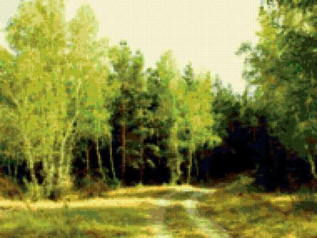 Летний полдень в лесу,