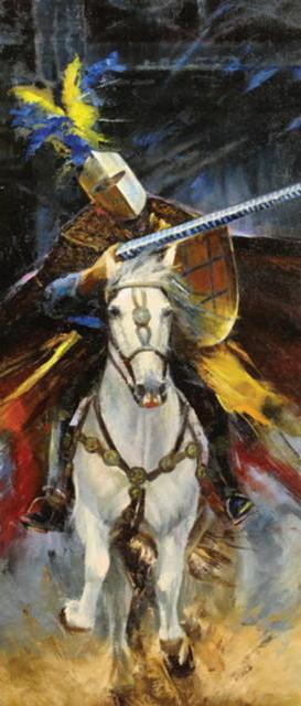 Доблестный рыцарь, оригинал