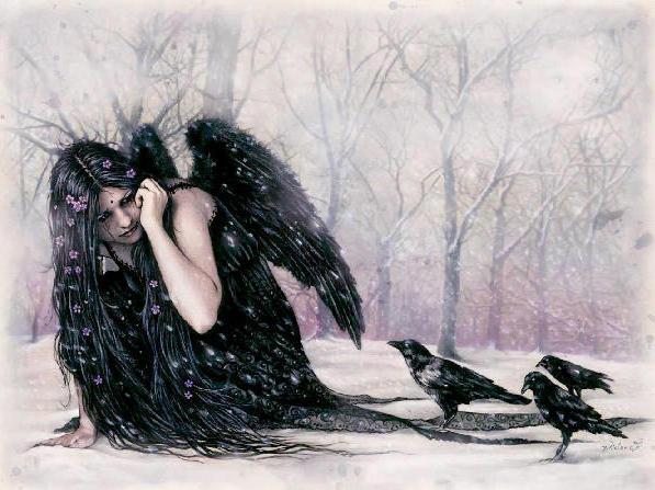 Черный ангел Виктории Френсис,