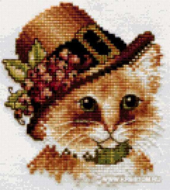 Кот в шляпе, предпросмотр