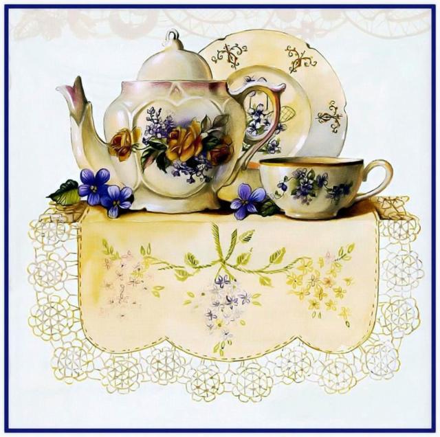 Чайный сервиз, чайный сервиз,
