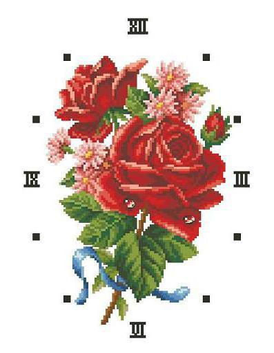 """Часы """"розы"""", оригинал"""