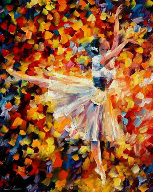 Балерина Л. Афремова, оригинал