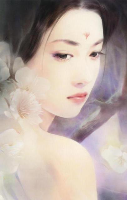 Японская девушка, восток