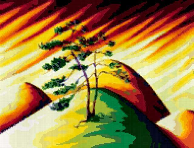 Colorful Bonsai, предпросмотр
