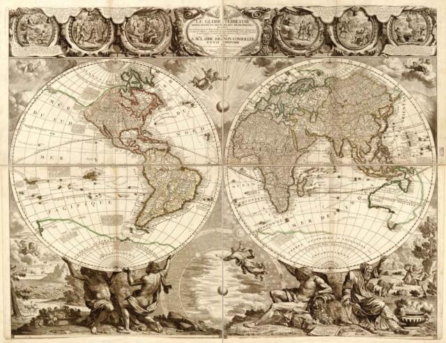 Старая карта, оригинал