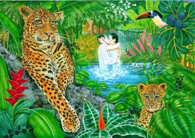 Тайна джунглей, животное