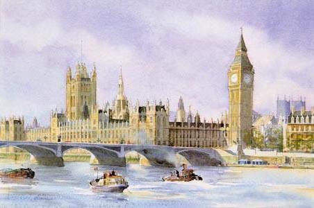 London - Big Ben, оригинал