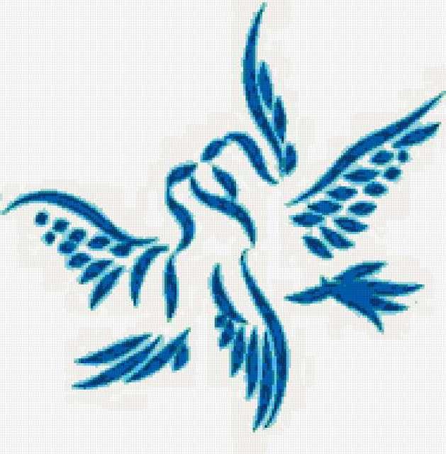 Голуби, скатерть, салфетка