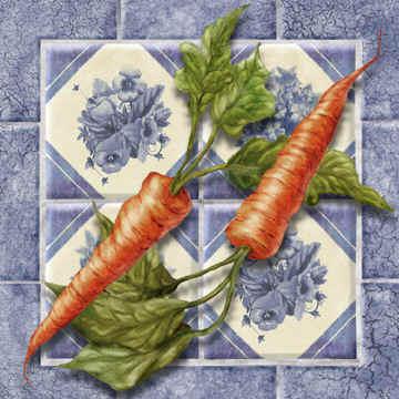 Морковка, панно, морковь