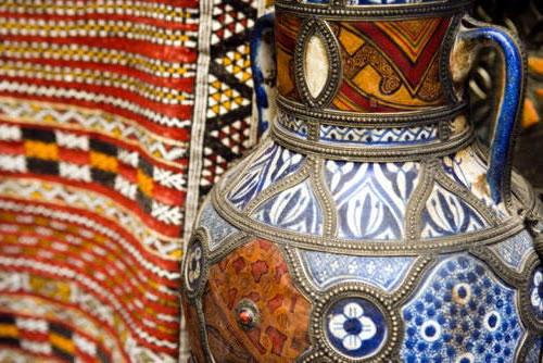 Марокканские мотивы, оригинал