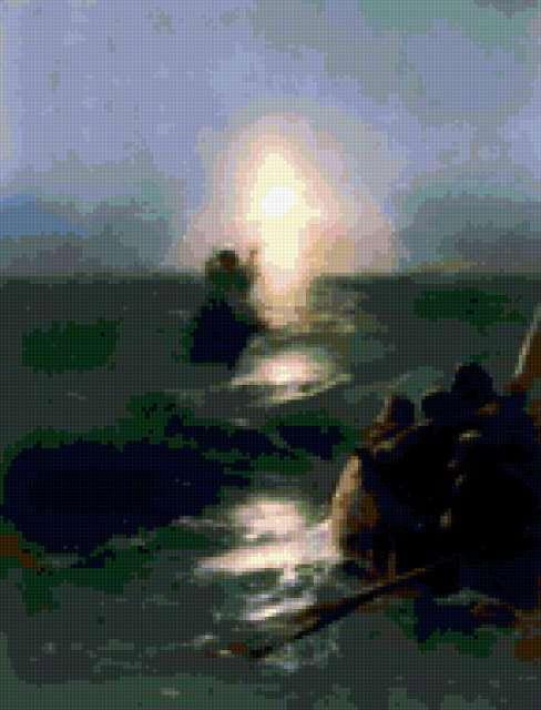 Айвазовский.Хождение по водах.