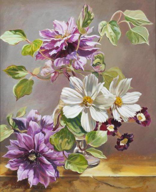 Клематисы, цветок, клематис
