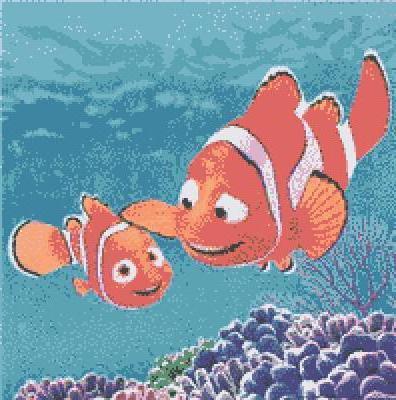 В поисках немо, Рыба клоун,