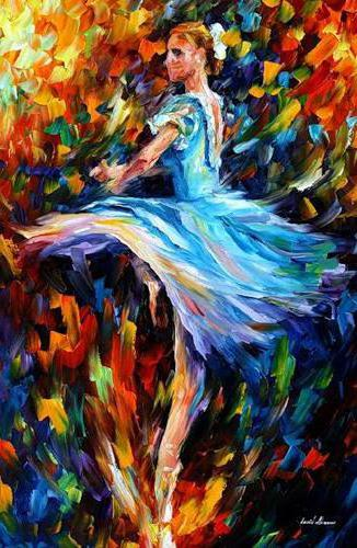 Танцовщица, Афремов, оригинал