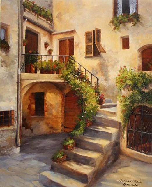 Итальянский дворик, дворик