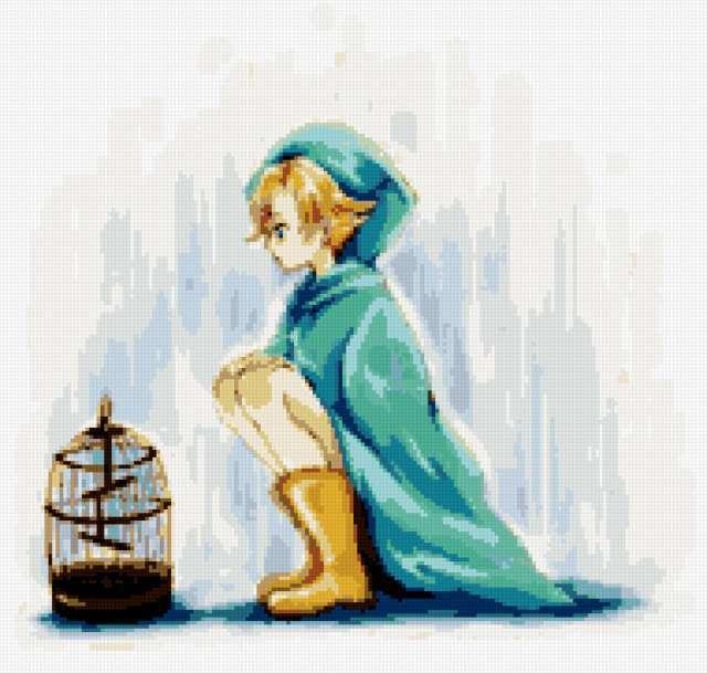 Мальчик и клетка, аниме