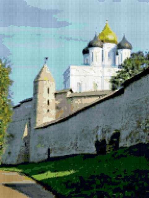 Псковский кремль, предпросмотр