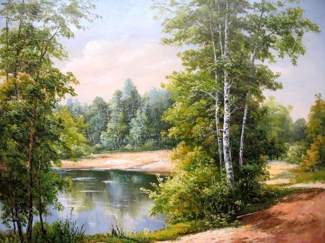 Летний пейзаж, природа, пейзаж