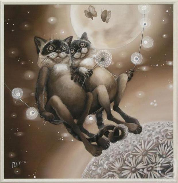 Коты.Надежда Соколова