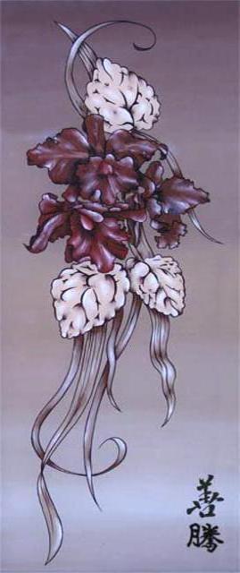 """Цветы """"Японский стиль"""" 1,"""