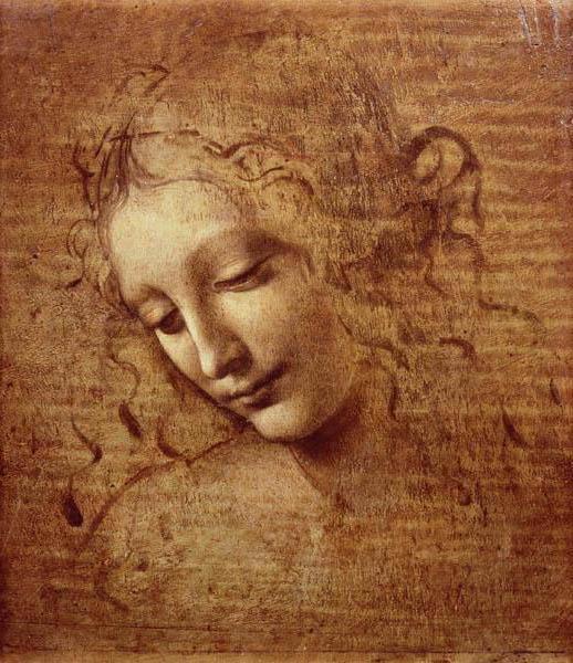 Фреска Леонардо Да Винчи ,