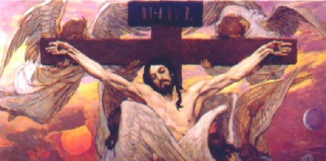 Васнецов.Распятый Иисус