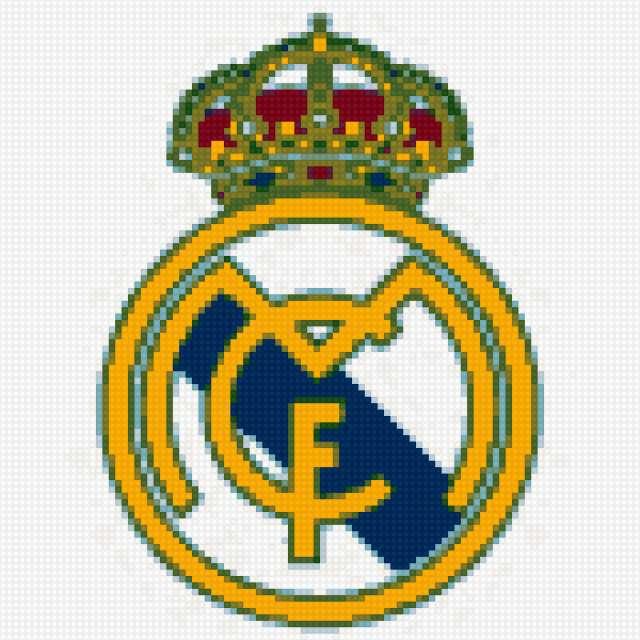Эмблема ФК Реал Мадрид,