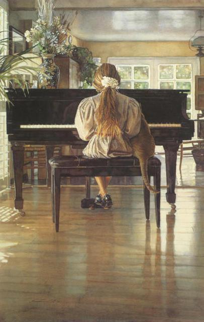 Пианино, пианино, девочка