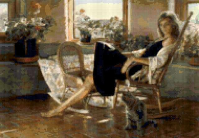 Кресло-качалка, предпросмотр