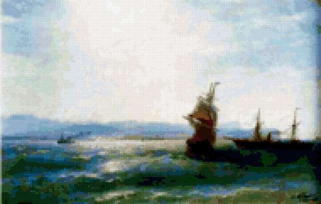 айвазовский, море, картина