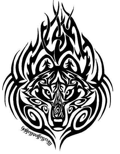 Волк, тату, волк, волки