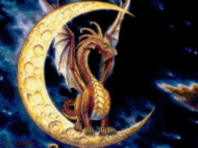Лунный дракон, предпросмотр