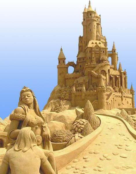 Замок из песка, оригинал