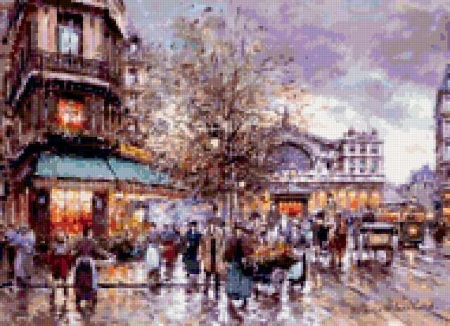 Париж, импрессионизм