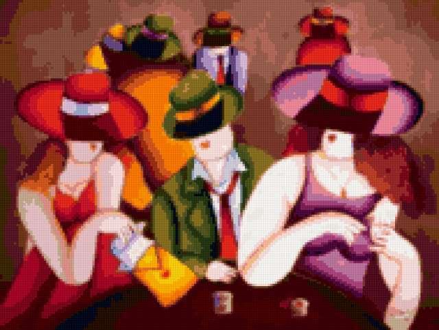 Люди и шляпы, предпросмотр