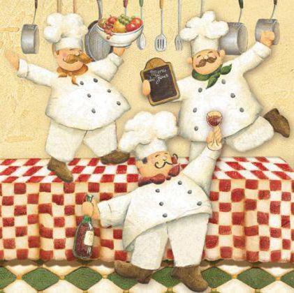 Веселые повара, повар