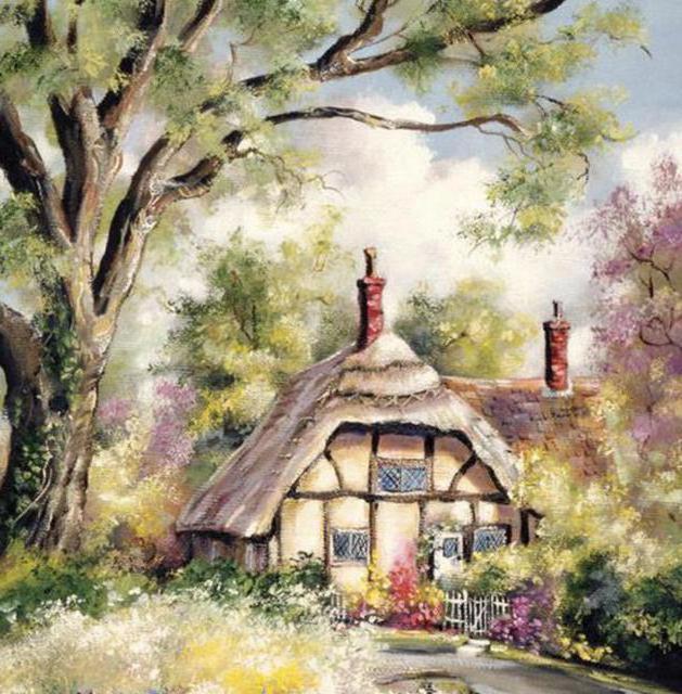 Сказочные домики , оригинал
