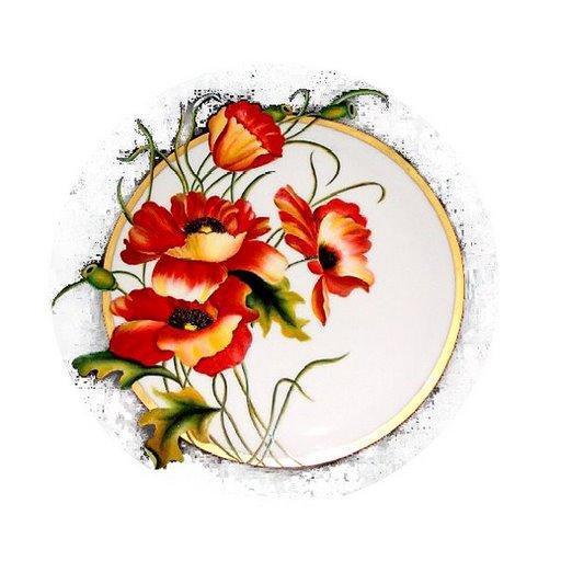 Красные маки, цветы, маки,