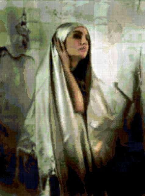 Silver Voile, восток, арабы,