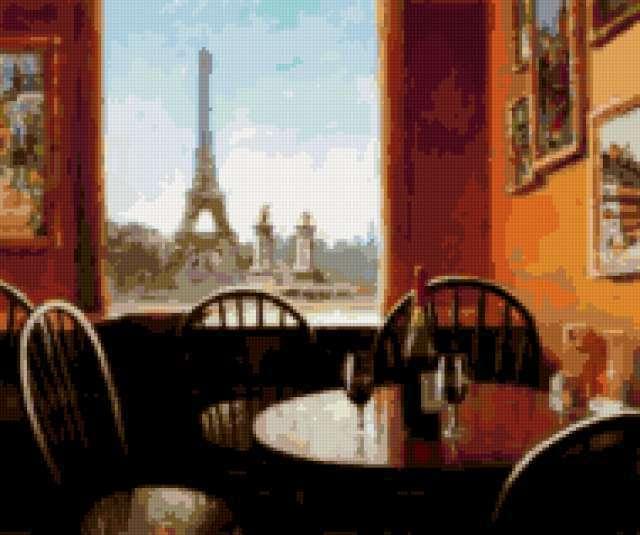 Парижское кафе, предпросмотр