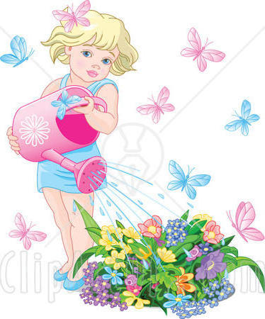 Девочка и бабочки, оригинал