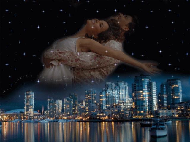 Любовь в ночном городе,